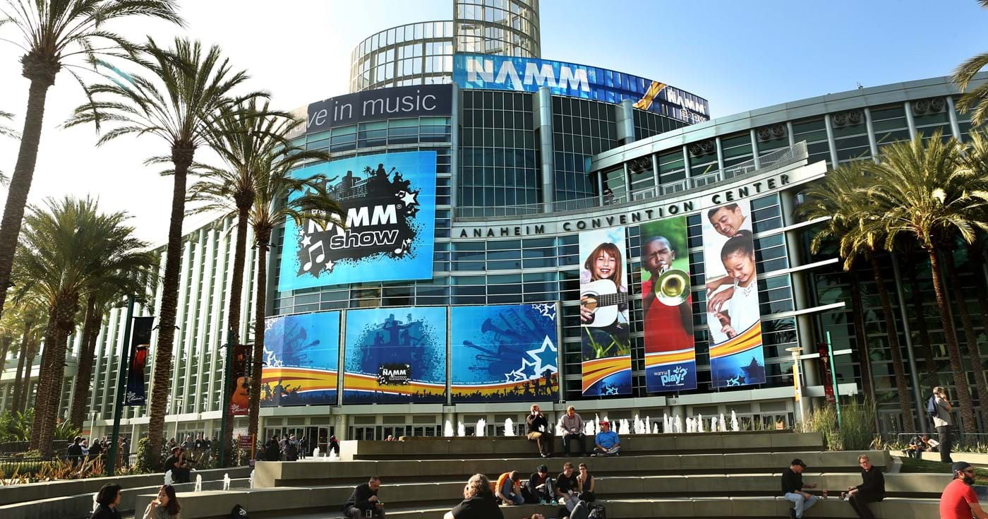 NAMM show 2017 advertisement at Yorkville