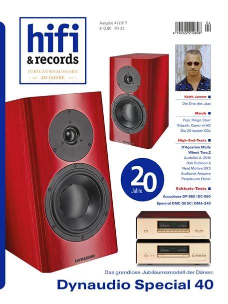 """Special Forty Test in hifi & records: """"Nahezu perfekt"""""""