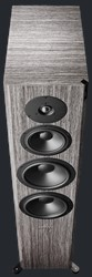 Top of Focus 60 XD in Grey Oak High Gloss